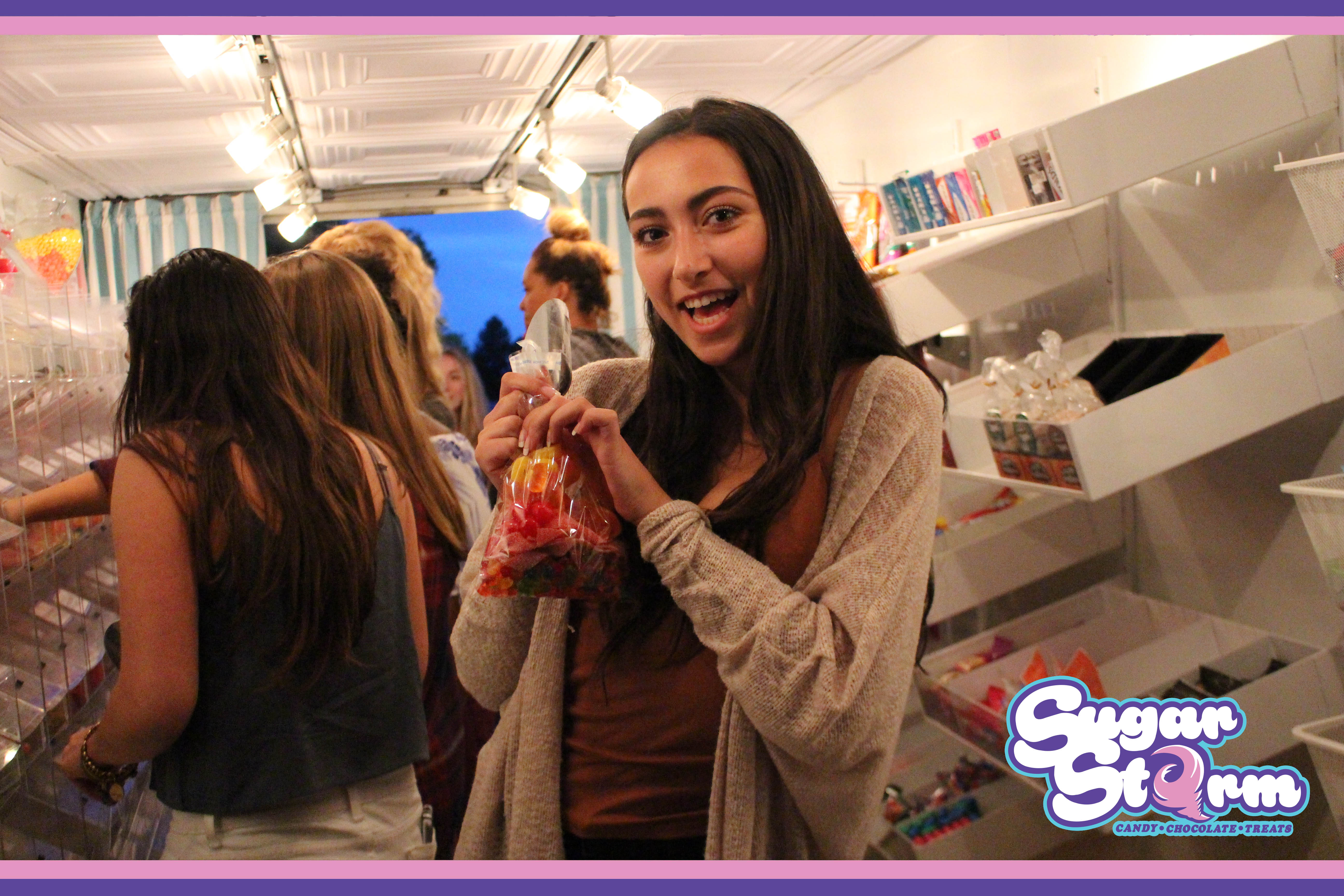 Sweet 16 Birthday Party With Sugar Storm Candy Store